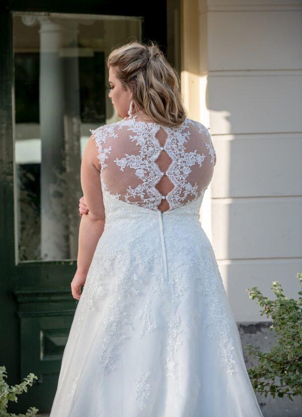 Bruidsjurk Bridal Star Grisella bruidsjurk plus size