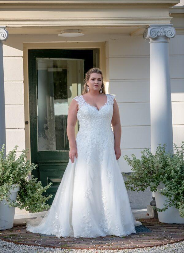 Bruidsjurk Bridal Star Grisella grote maten trouwjurk