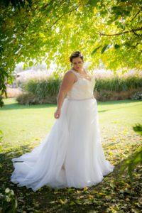 plussize bruidsjurk