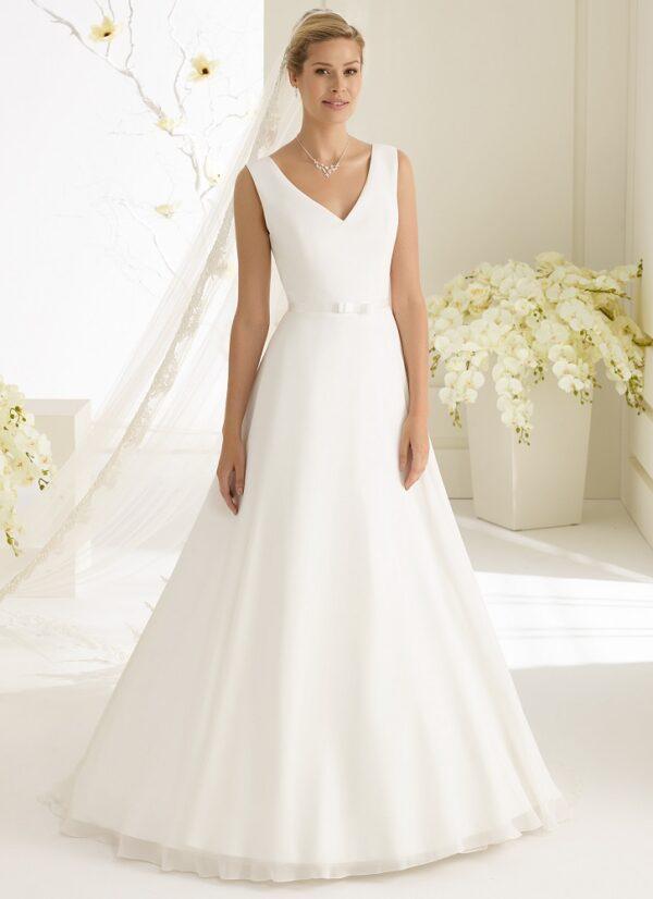 Bruidsjurk Bianco Evento Dalila voorkant