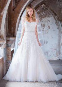 witte bruidsjurk