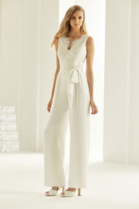 bridal jumpsuit bianco evento almere
