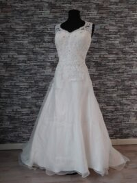 sweetheart trouwjurk tweedehands trouwjurk