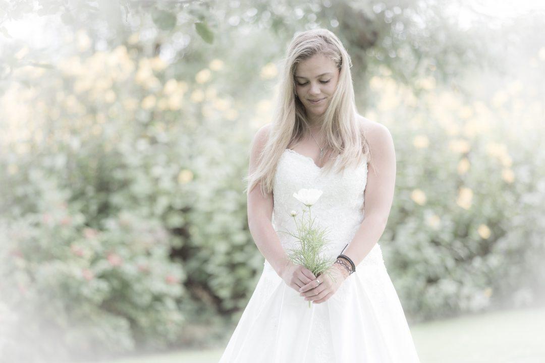 corona en je trouwjurk