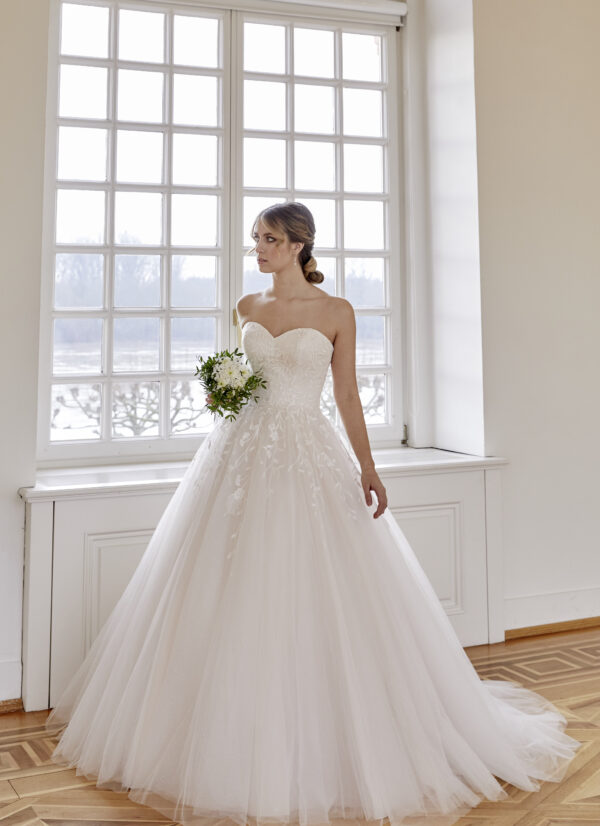 prinsessen trouwjurk van diane le grand 50444